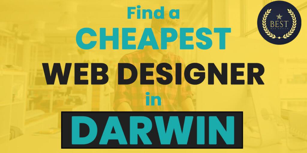 Cheapest Web Designer in Darwin